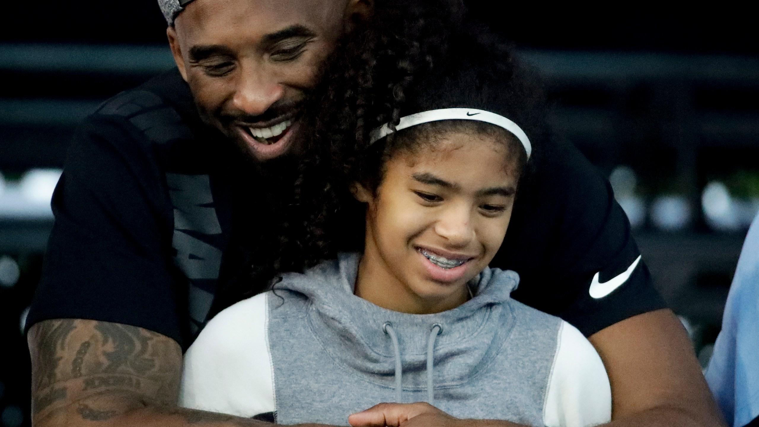 Kobe Bryant, Gianna Bryant