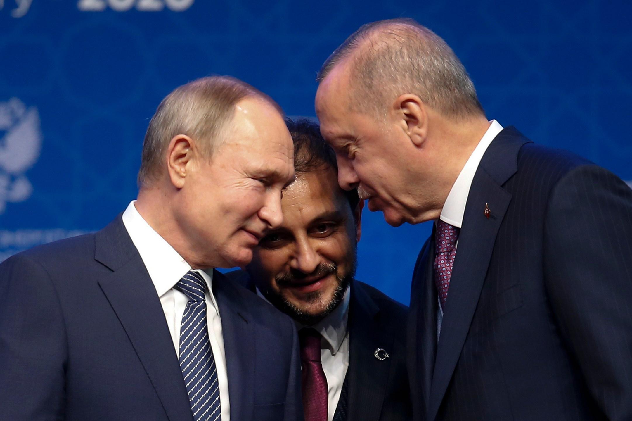 Recep Tayyip Erdogan, Vladimir Putin