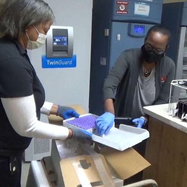 Georgia's first COVID-19 vaccine shipment arrives in the Coastal Empire (Georgia Department of Public Health)
