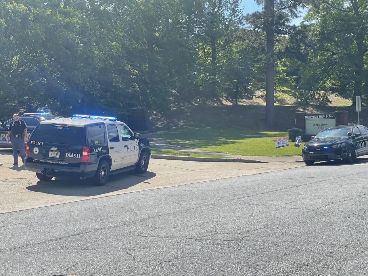 Columbus High School on lockdown