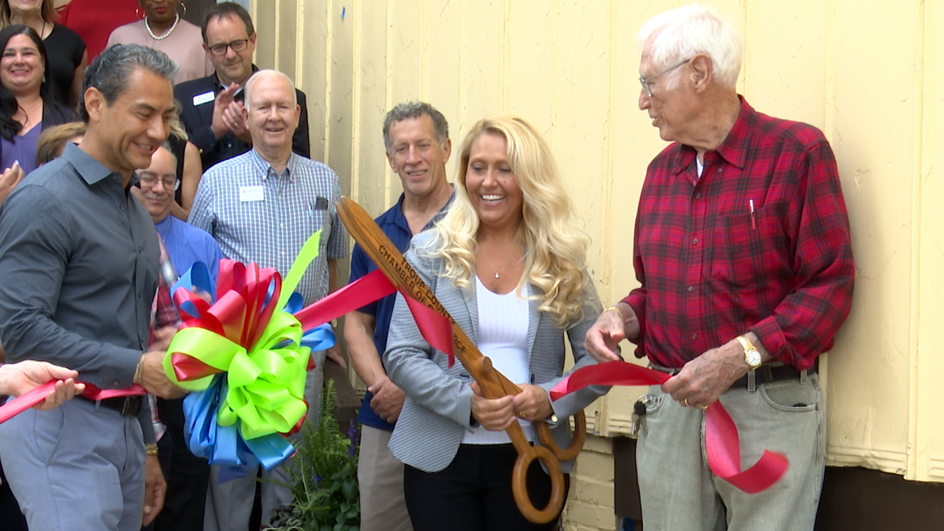 Habitats for Humanity Ribbon Cutting in LaGrange