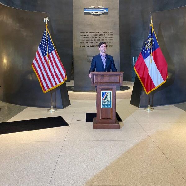 Senator Jon Ossoff in Columbus