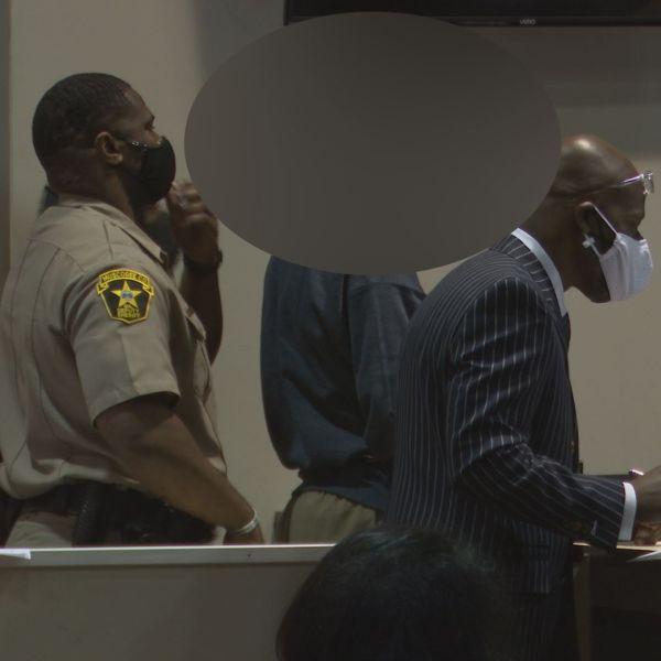 Jaius Roland in court