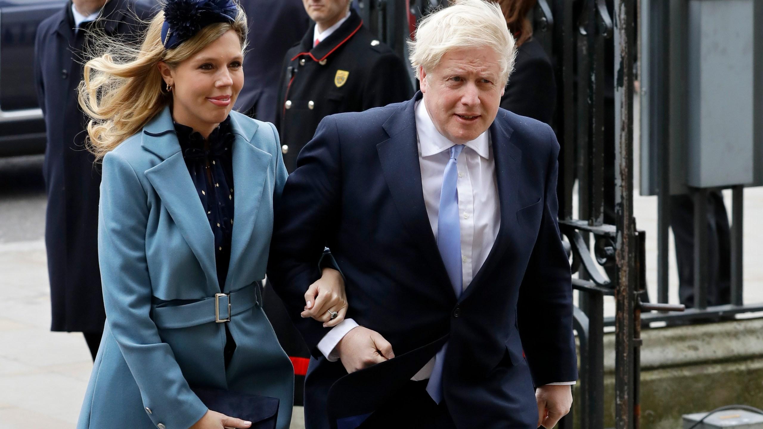 Boris Johnson, Carrie Symonds