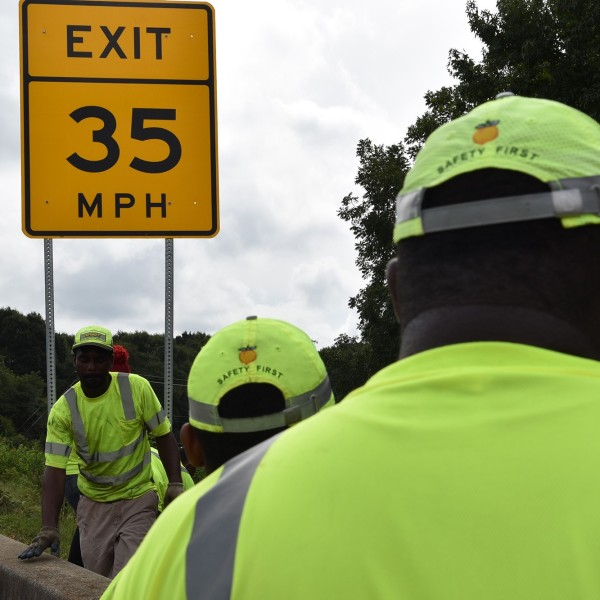 Georgia Department of Transportation road improvement projects