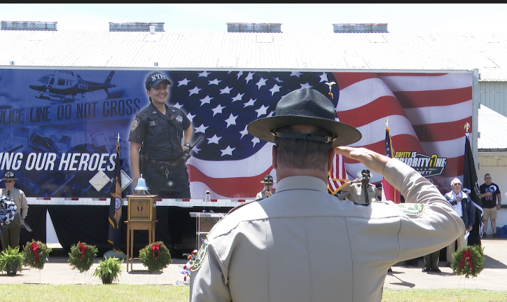 police ceremony sumter