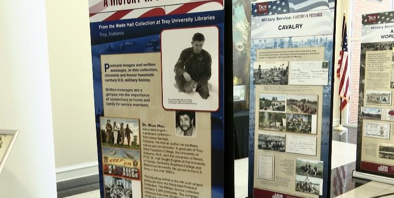 A History in Postcard, Troy University exhibit