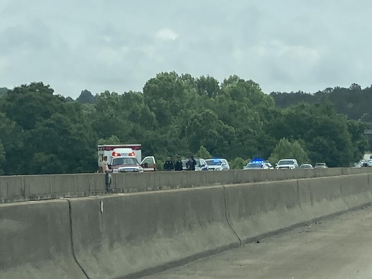 Police on scene at JR Allen bridge heading into Phenix City