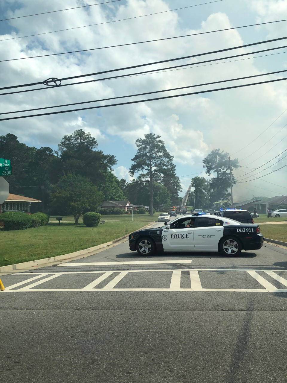 Reported house fire on Pinola Avenue