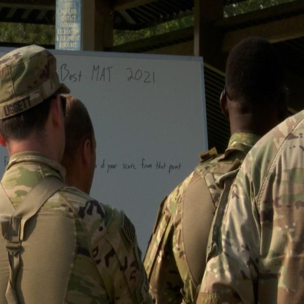 Ft. Benning training