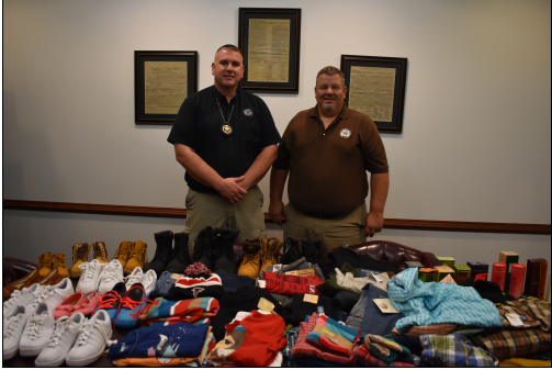The Troup County Sheriff's Office is donating stolen clothes to youth homes