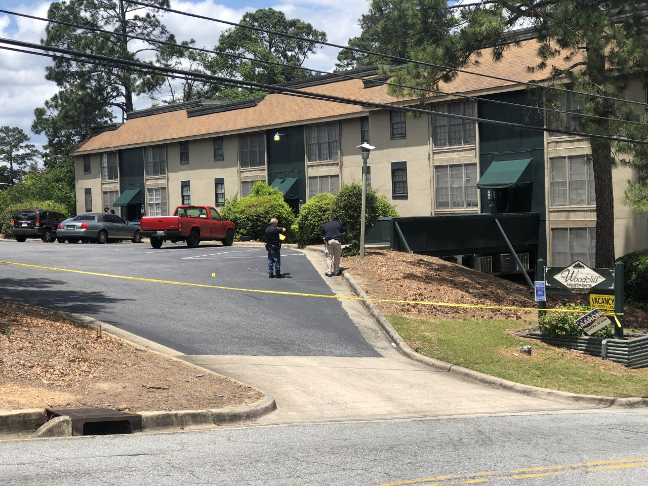 Woodcliff Apartments crime scene