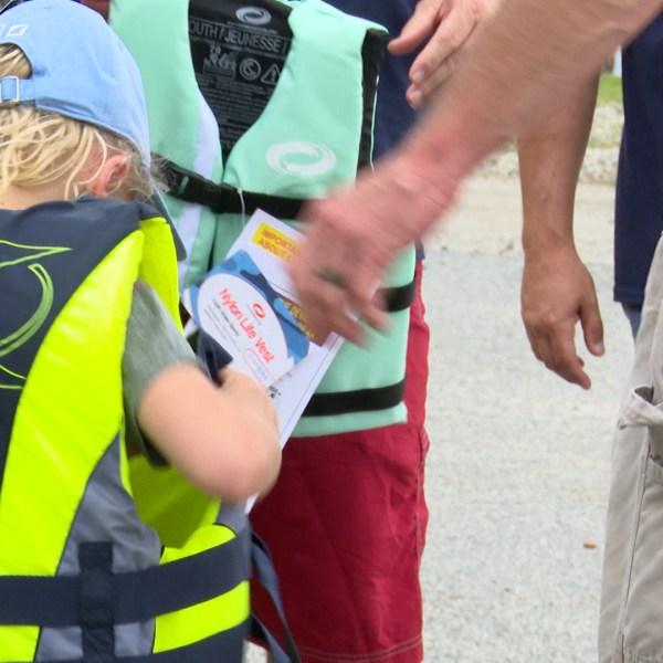 life jacket give away