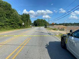 Columbus Police on scene at Cusseta and Old Cusseta Road