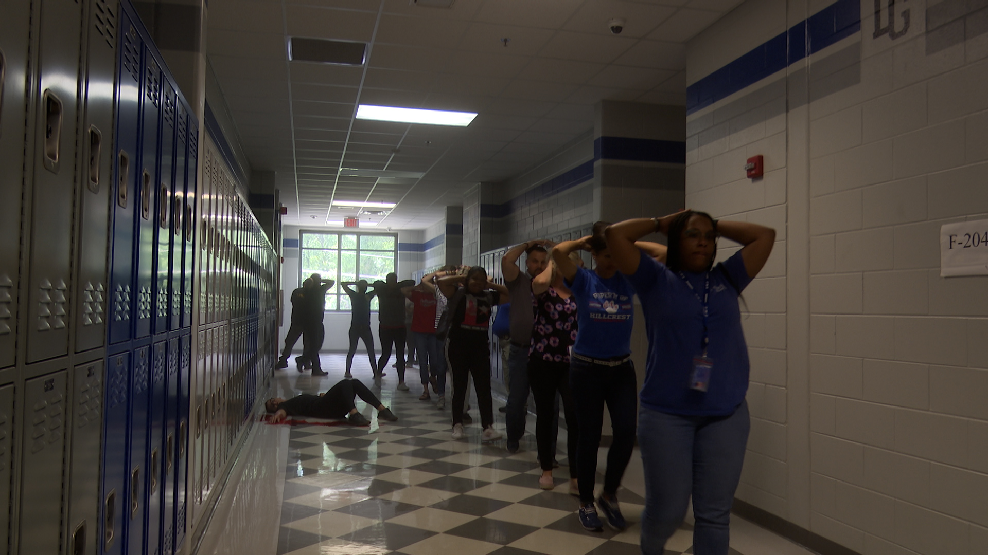 TCSS Active Shooter Simulation