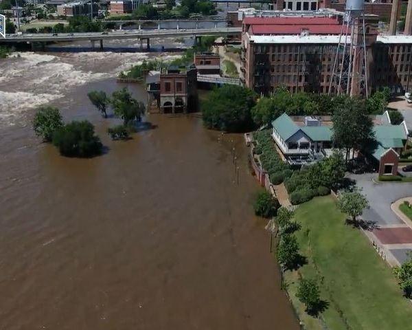 Ranger 3 over the flooded Chattahoochee River