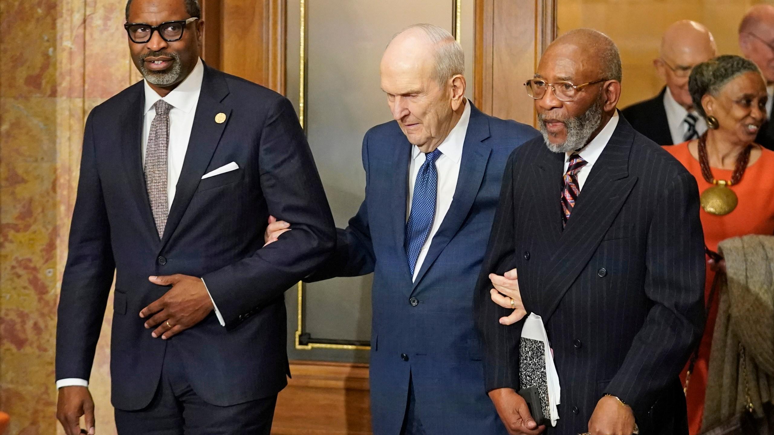 Amos C. Brown, Russell M. Nelson, Derrick Johnson