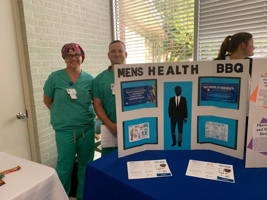Men's Health Awareness bbq