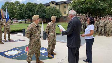 Mayor Henderson honors Rangers who saved Columbus gunshot victims