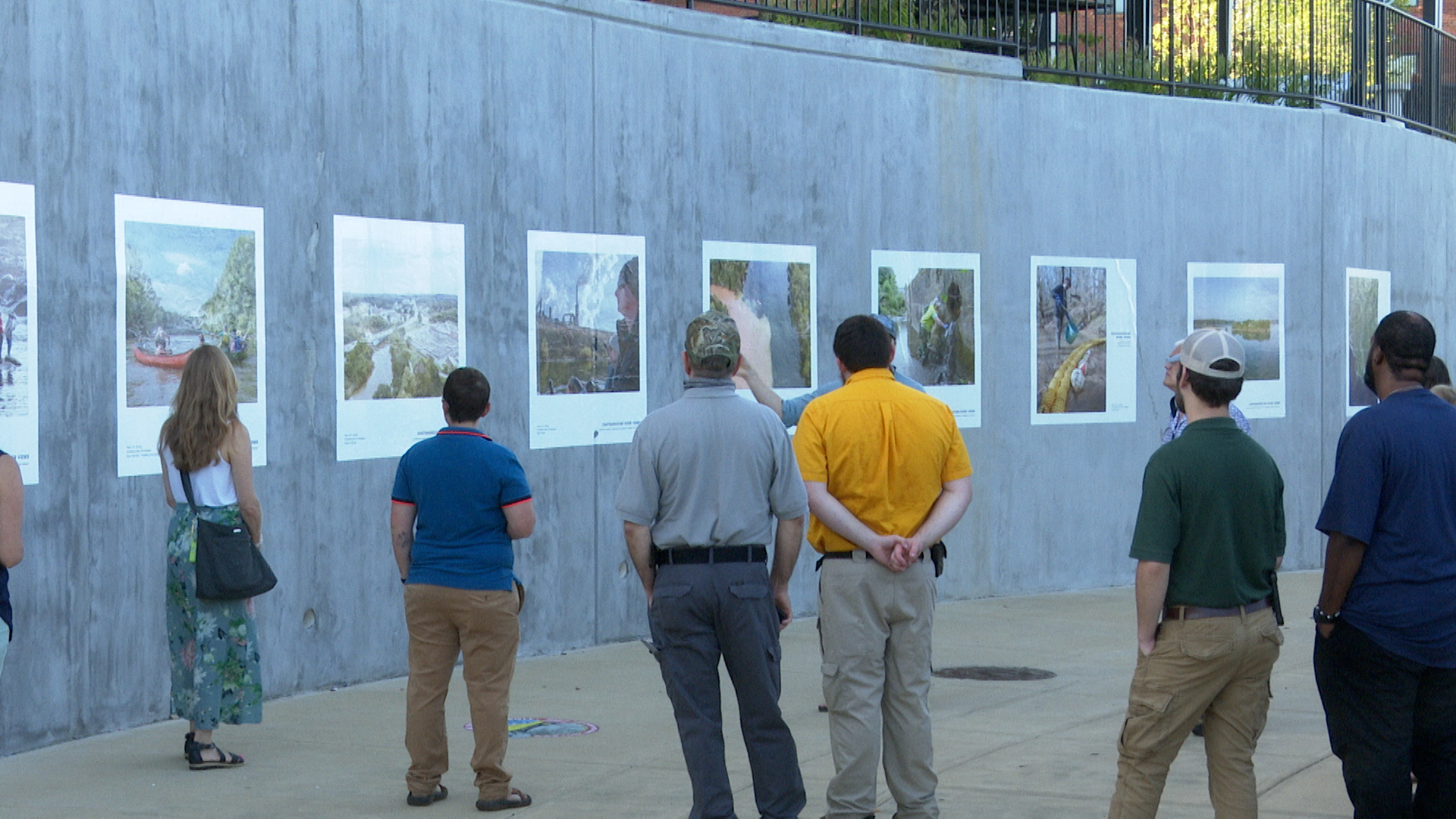 RiverViews outdoor photo exhibit