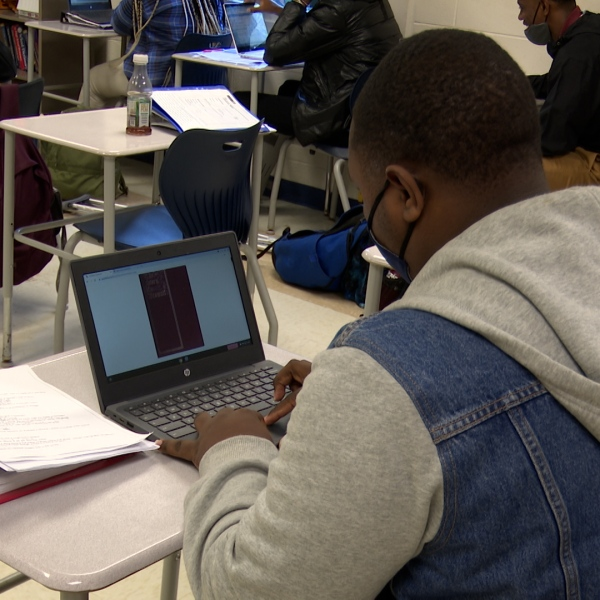 Talbot County Schools with Chromebooks