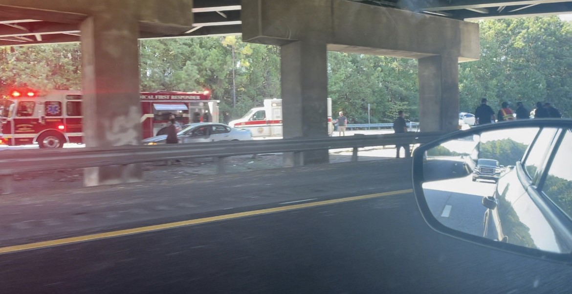 I-185 southbound wreck