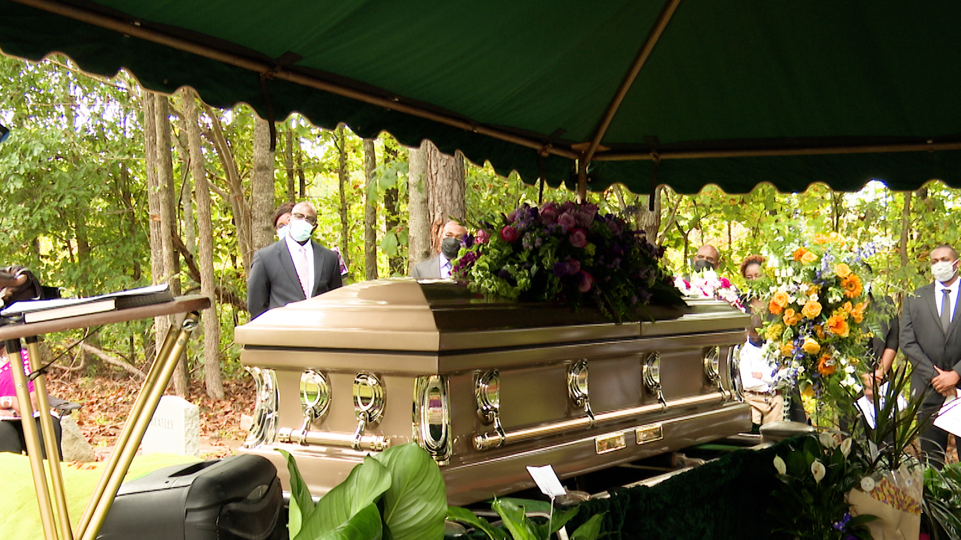 Akeila Ware's Funeral