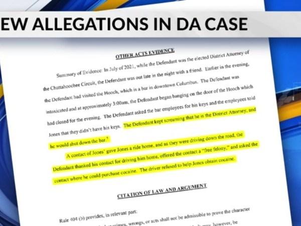 Jones allegations